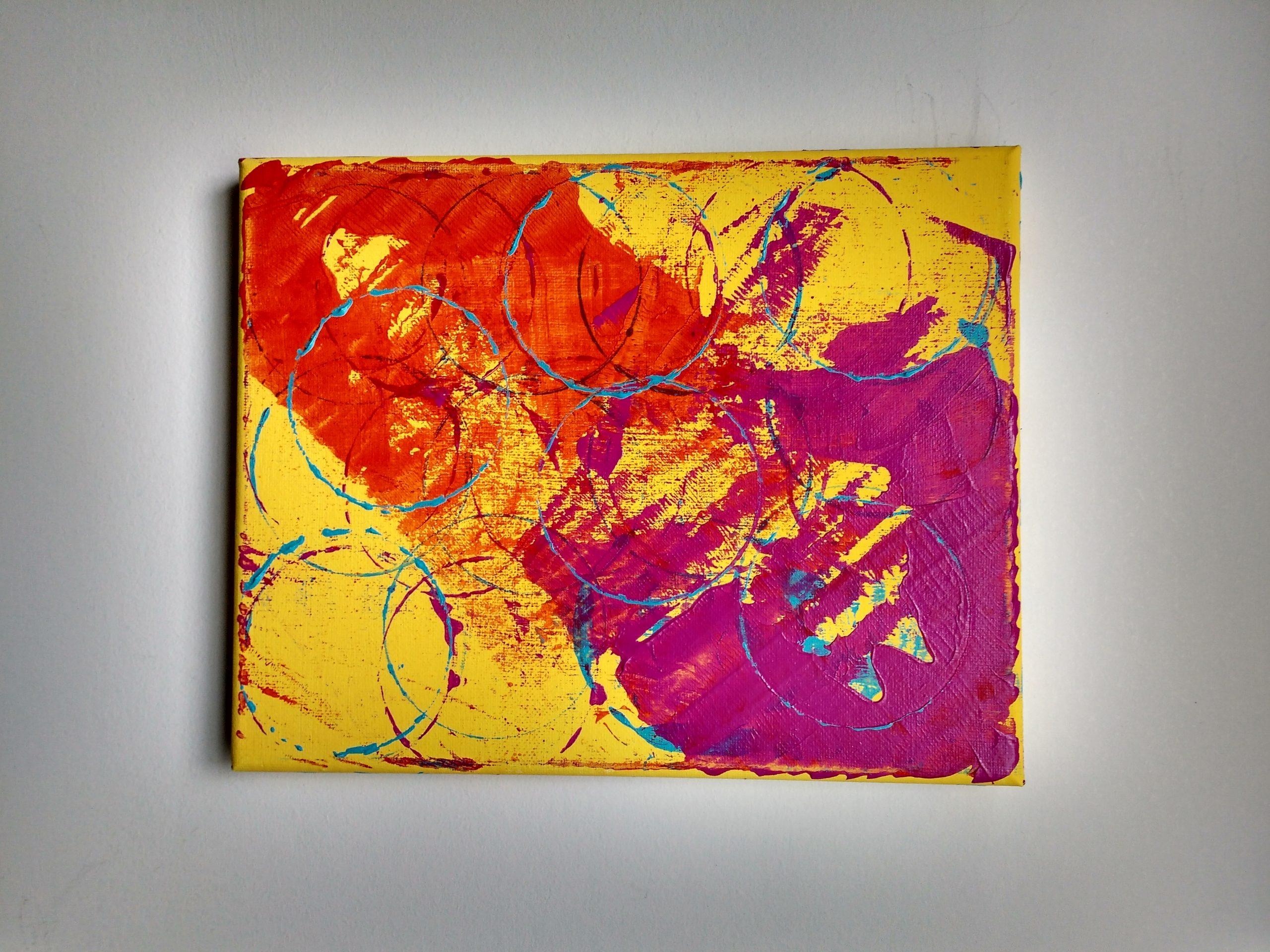 Untitled, 2019, mixed media, 8x10