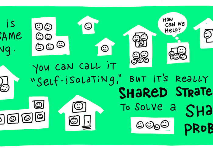 Social Distancing is really a Shared Strategy